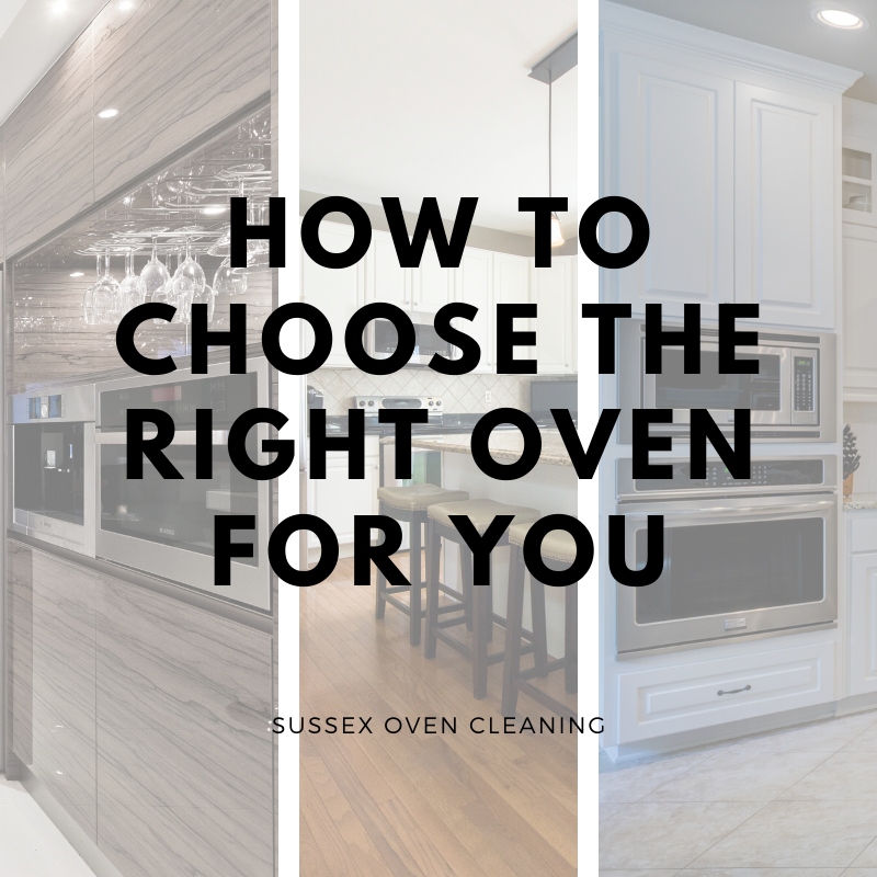 how to choose the right oven for you
